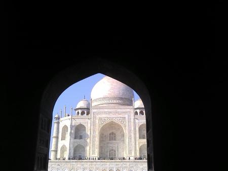 Taj Mahal a monument of love Stock Photo
