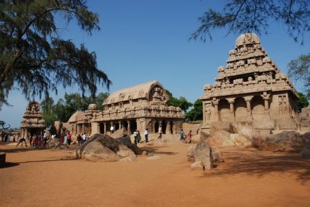 Five Rathas in Mahabalipuram