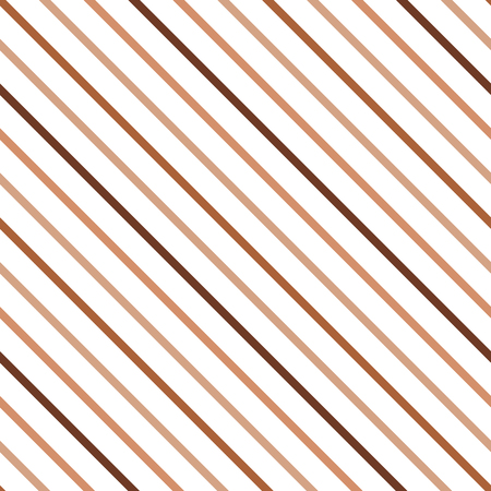 diagonal lines: Geometric diagonal background. Seamless pattern in the brown, coffee and caramel colors. Light brown lines. Texture can be used for wallpaper, pattern fills, web page, background. Illustration