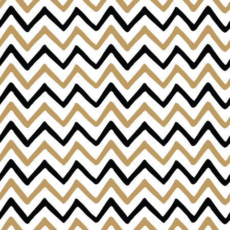 Vector seamless pattern with fabric zig zag texture