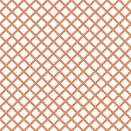 Seamless pattern with trendy stylish cell gingham in coffee colors