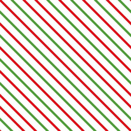 抽象対角線伝統的なメリークリスマスの背景。赤緑の色で作られたシームレスなパターン。[幾何線] テンプレート。テクスチャは、壁紙、パターン