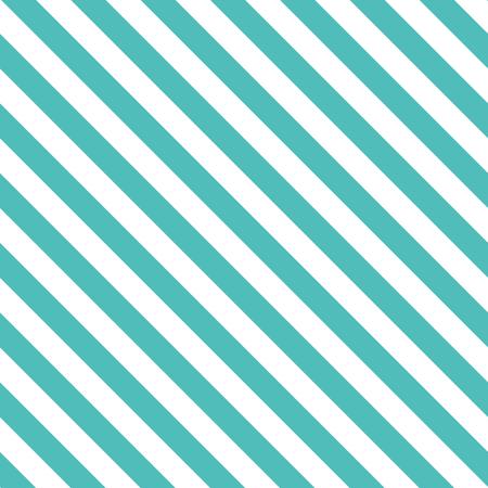 ターコイズ色のラインの装飾的な斜めの背景とのシームレスなパターン。