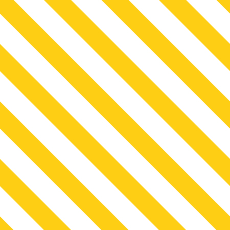 Abstract diagonal yellow summer background. Seamless pattern made on bright yellow color. Geometric lines template. Texture can be used for wallpaper, pattern fills, web page, background, cover, wrap  イラスト・ベクター素材