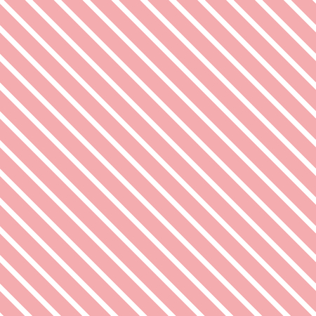 Pink seamless pattern Abstract diagonal geometric background made from lines Wallpaper for baby girl. Texture can be used for fabric design cloth pyjamas wrap cover package banner card template.