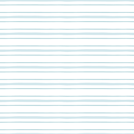 Seamless pattern with light blue stripes Pastel blue lines baby boy geometric horizontal pattern Man design template. Cute baby shower blue color background. Childish textile Vector illustration. Illustration