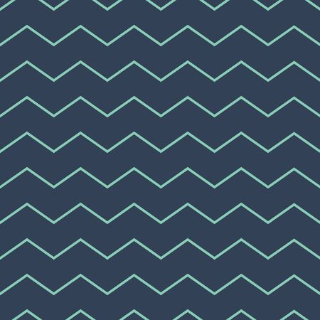 Abstract zig zag lines seamless pattern dark green grey colors Male fabric clothing background Boy clothing