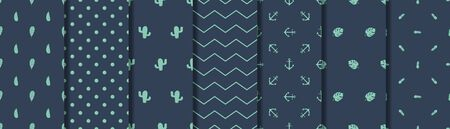 Boys pattern clothing set Male seamless pattern Men simple background wallpaper for textile fabric collection