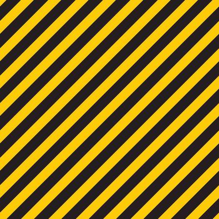 Black yellow stripes wall. Hazard industrial striped road warning. Yellow black diagonal stripes. Caution background. Reklamní fotografie