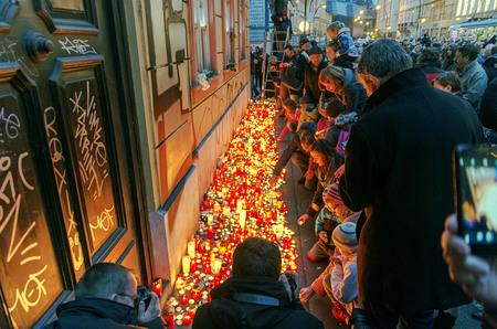 25th: Czech Republic, Prague November.17.2014 -  25th celebrations of the fall of communism in the Czech Republic
