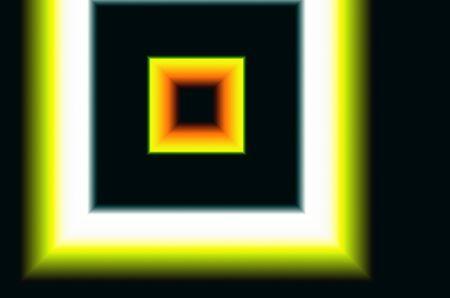 many colored: Illustration of many colored squares black white yellow orange