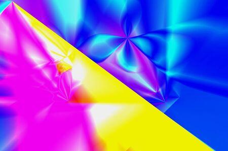 improvisation: Abstract illustration of various colors, art, improvisation Stock Photo