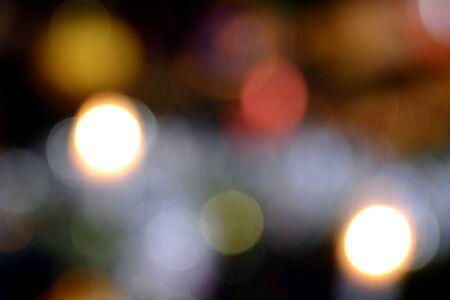 lighting background: Abstract bokeh background lighting of the Christmas light Xmas