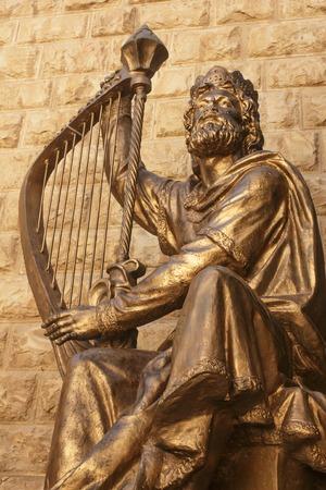 Statue of King David, Jerusalem, Israel