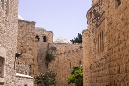 jewish home: Ancient buildings of Jerusalem