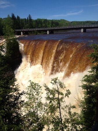 provincial: Kakabekka falls Provingcial Park Stock Photo