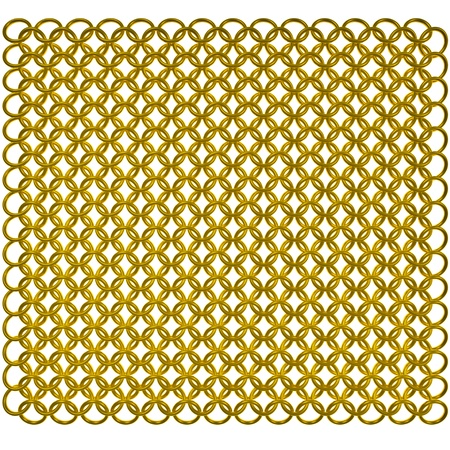 Gold mail Stock Photo - 8640411