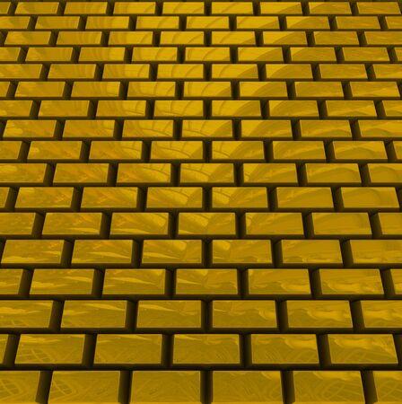 Tilt texture from gold bricks photo