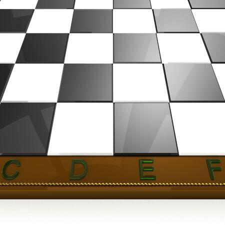 near volume chess board photo