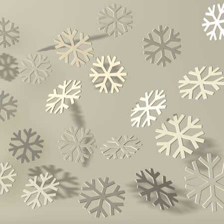 bevel: Gray bevel snow with shadows on soft background