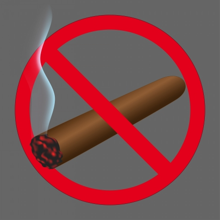 Sign no smoking Stock Vector - 20479908