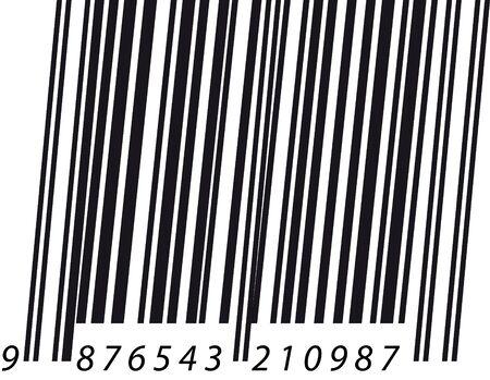 italic: Barcode italic Illustration