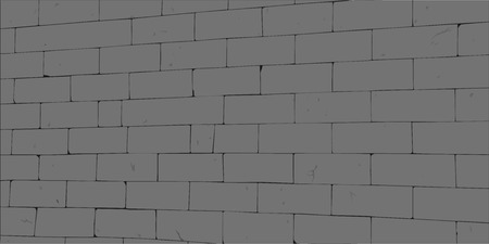 Wall of big dark stones