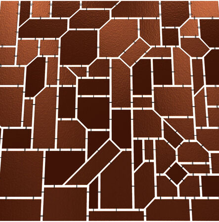 Geometric tiles with chains