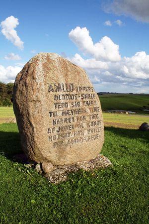 hamlets: hamlets grave in denmark. The real hamlet prince of denmark grave stone