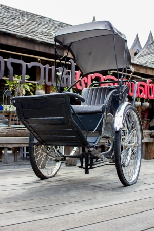 Rickshaw travel transport old