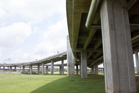 Expressway bridge daylight traffic transportation photo