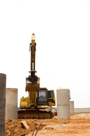 Heavy machine Construction Building Stock Photo - 14803572