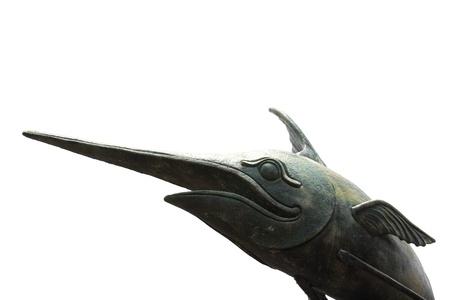 animal Fish Sculpture sky photo