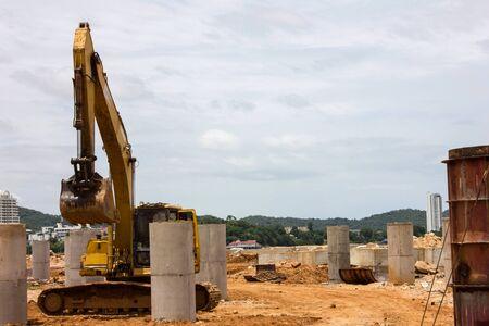 Heavy machine Construction Building
