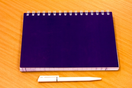 note book paper diary and work Stock Photo - 15250042