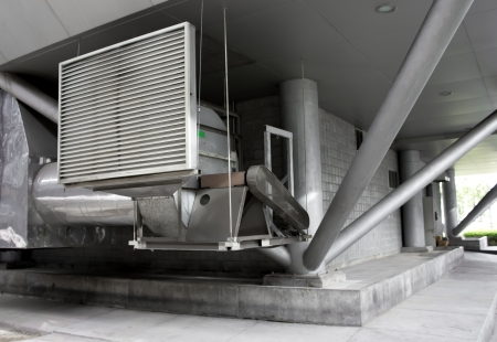 Ventilation: building air conditioner control
