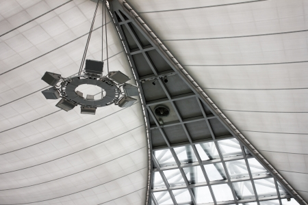 building Lamp Suspension Ceiling photo