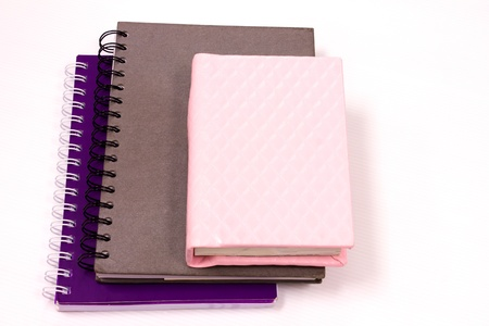 note book paper diary and work Stock Photo - 15400749