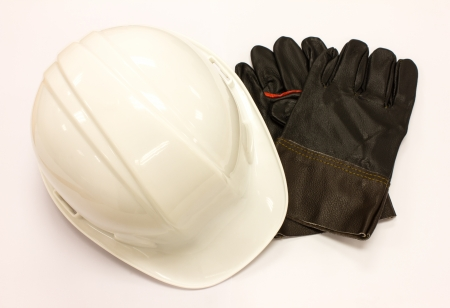 Gloves and cap safety for Technician work safety photo