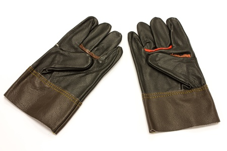 Leather Gloves for Technician work safety photo