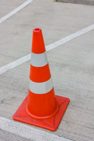 Traffic cones park warning equipment photo