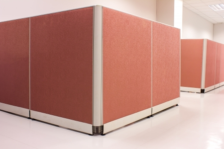 office pink Partition business photo