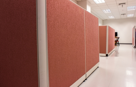 office pink Partition business Imagens - 16163770