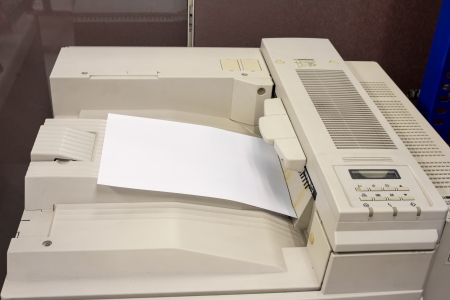Copier xerox machine office equipment Фото со стока