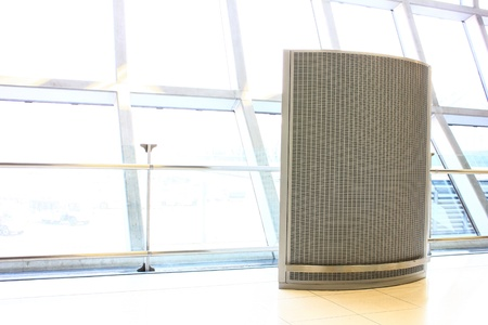 modern air Filter indoor at the airport photo