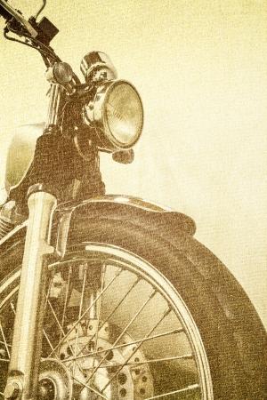 pattern vintage Motorcycle detail