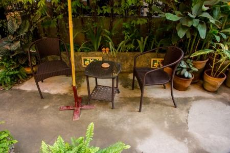 small garden outdoor design photo