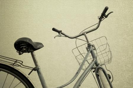 vintage bicycle old background photo