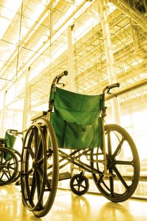 Wheelchair service  color tone technique by program