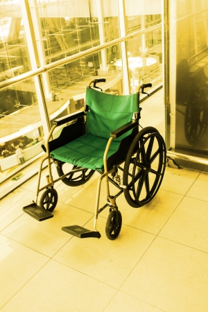 Wheelchair service  color tone technique by program Imagens - 23284550